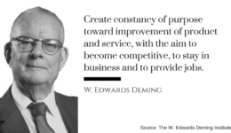 Deming constancy quote